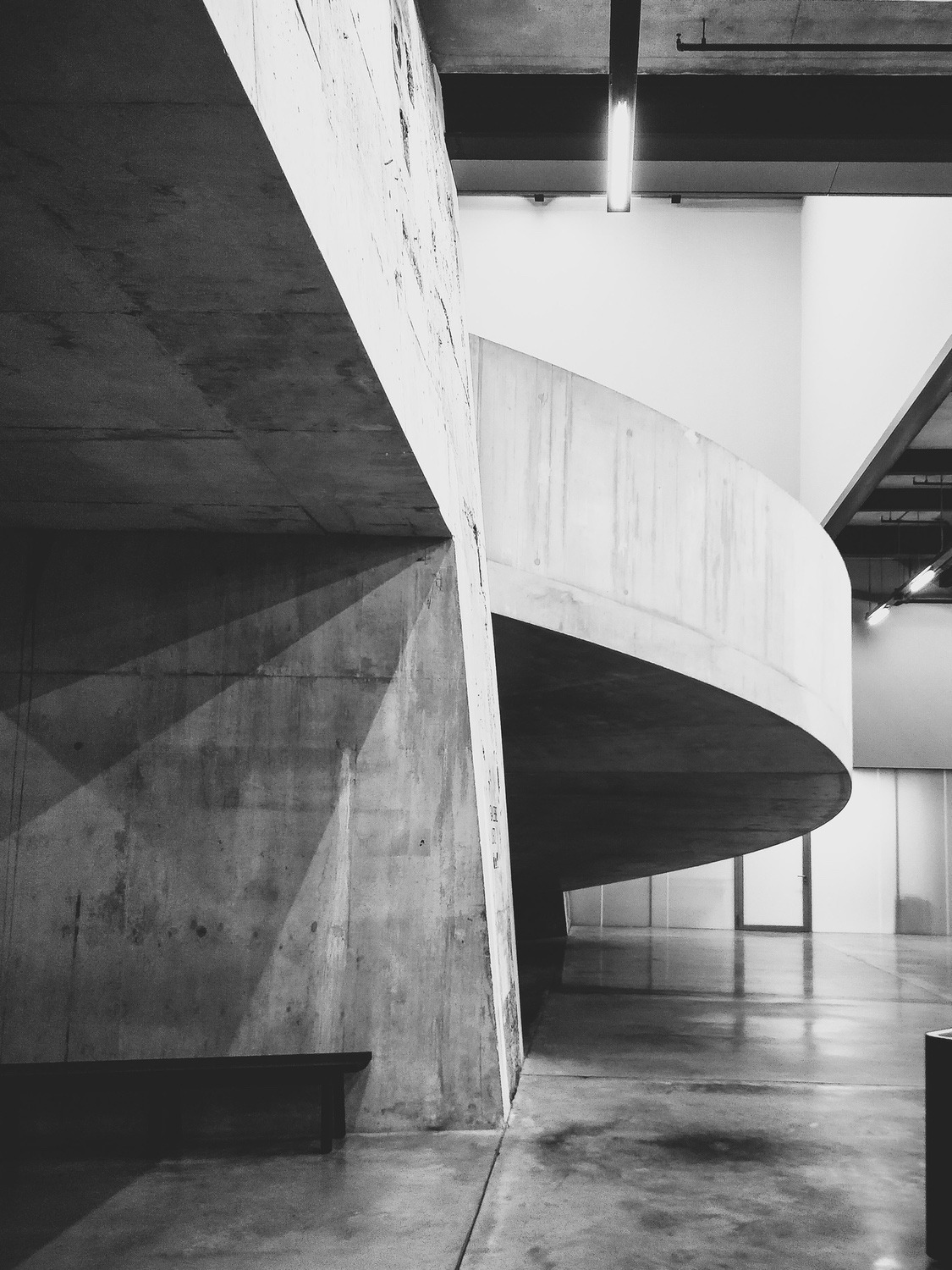 The concrete architecture of the Tate underbelly