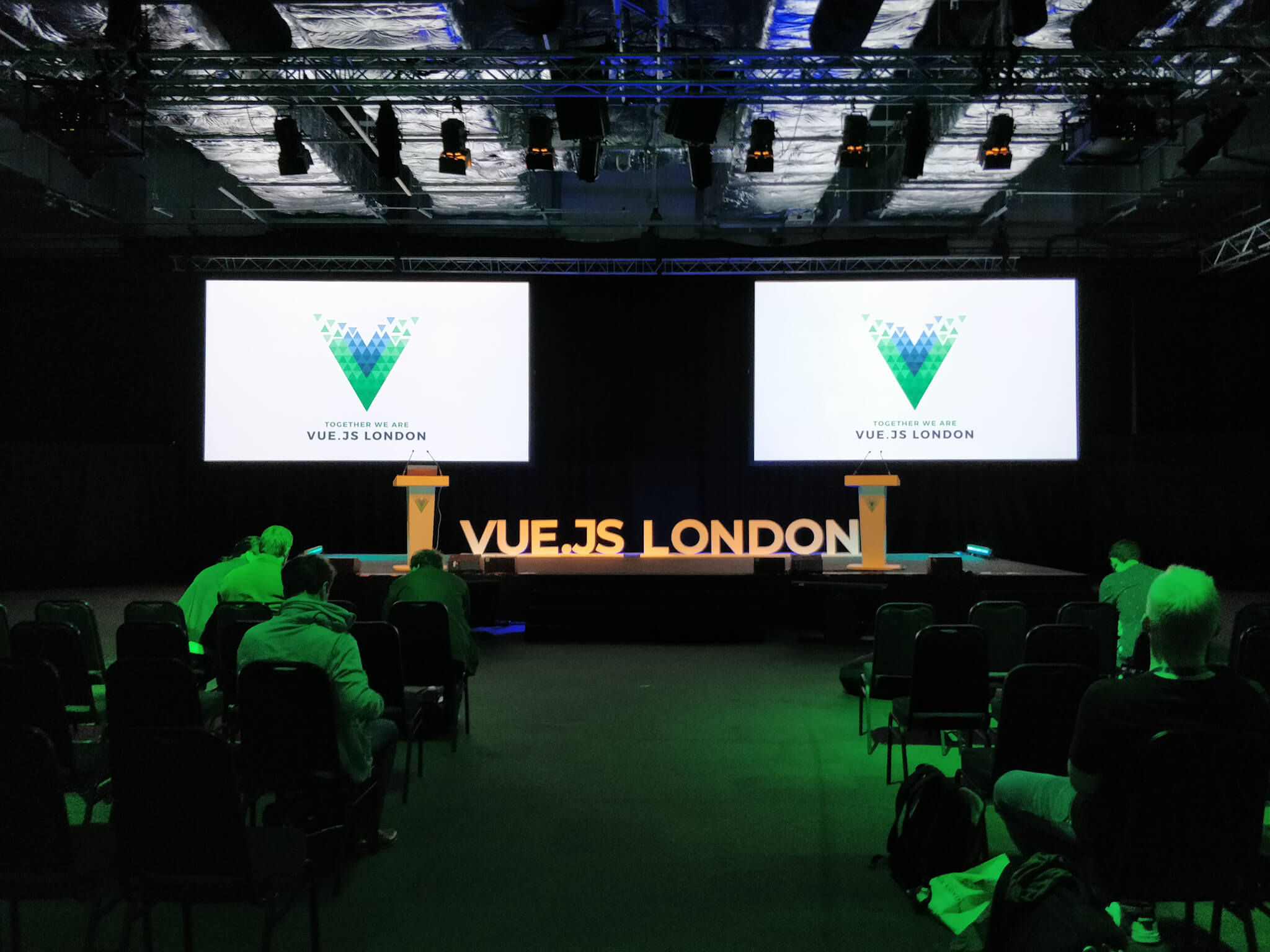 Ready to learn at Vue.js London
